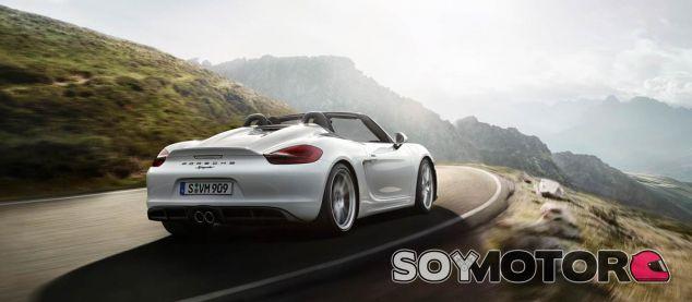 Porsche Boxster Spyder 2015 -SoyMotor