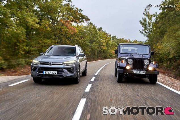 El Korando 4 y el Korando 1 - SoyMotor.com