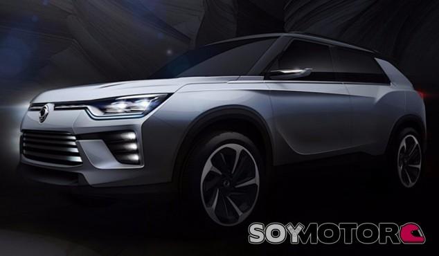 El SsangYong SIV-2 es evolución del prototipo presentado por la marca en Ginebra en 2013 - SoyMotor
