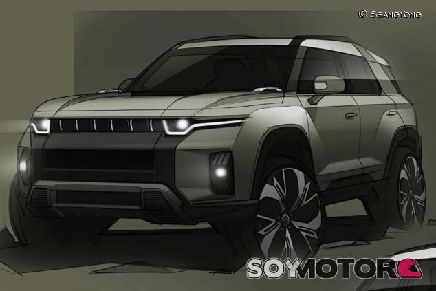 SsangYong J100 2022: nuevo SUV eléctrico en el horizonte - SoyMotor.com