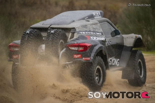 El SsangYong Rexton DKR de Óscar Fuertes y Diego Vallejo - SoyMotor.com
