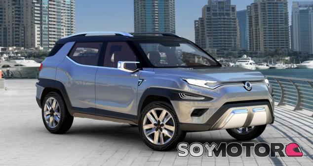 El SsangYong Concept XAVL -Soymotor