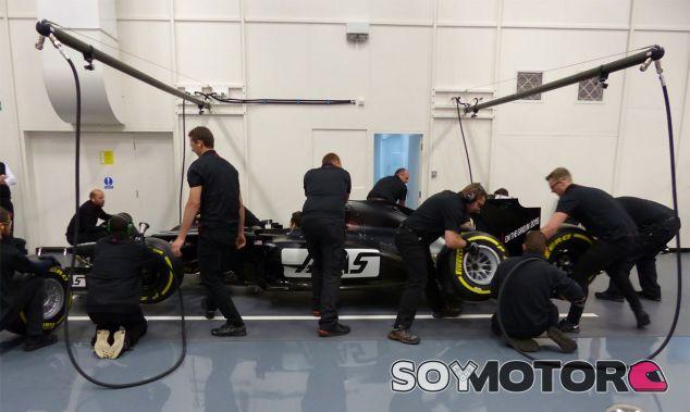 Steiner vuelve a rebajar las expectativas sobre el debut de Haas F1 Team - LaF1