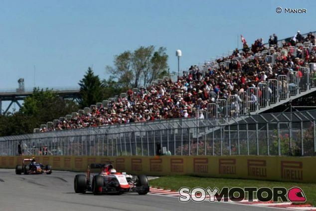Will Stevens con el Manor en Canadá - LaF1