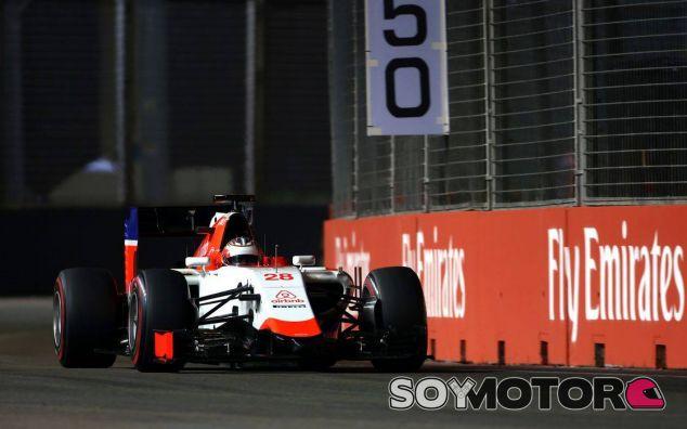 Will Stevens en Singapur - LaF1