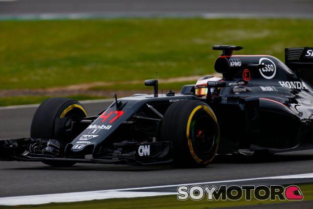 Stoffel Vandoorne en Silverstone - LaF1