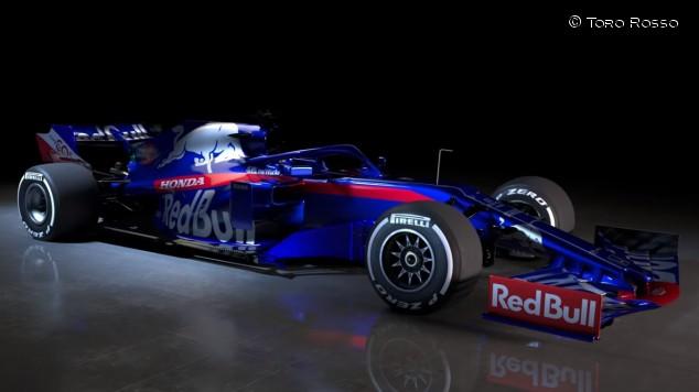 Toro Rosso presenta su nuevo STR14 para 2019 - SoyMotor.com