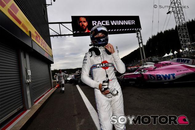 Lance Stroll en Spa - SoyMotor.com