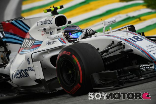 Lance Stroll en Interlagos - SoyMotor.com