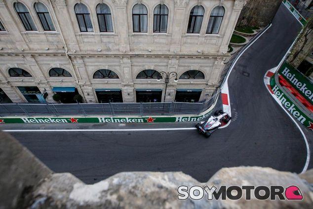Lance Stroll en Azerbaiyán - SoyMotor