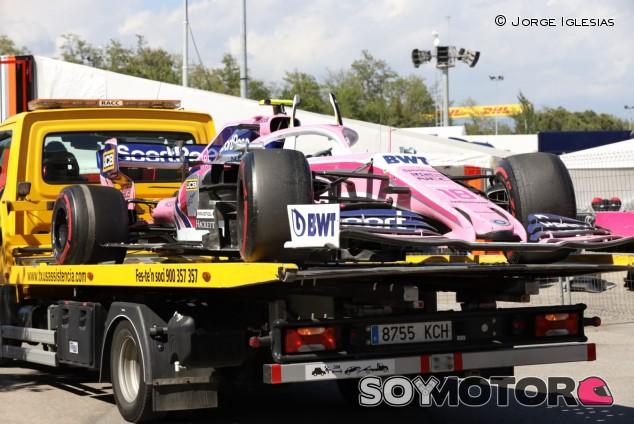 Racing Point en el GP de España F1 2019: Domingo – SoyMotor.com