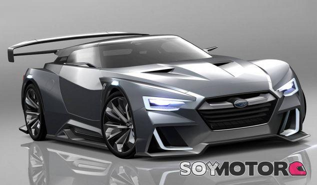 Subaru Viziv GT Vision Gran Turismo - SoyMotor.com