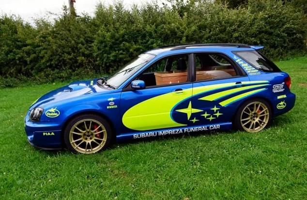 El Subaru Impreza fúnebre - SoyMotor.com