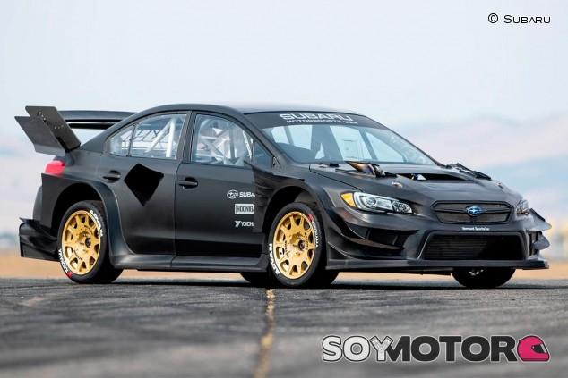 Subaru WRX STI de Travis Pastrana - SoyMotor.com