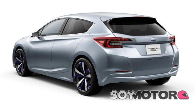 Subaru ha presentado en Tokio el adelanto de la próxima generación del Impreza - SoyMotor