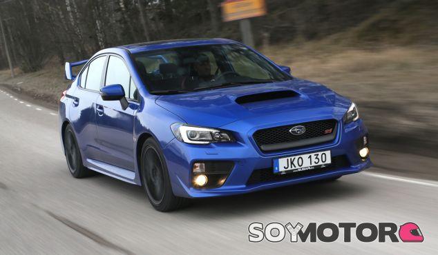 El Subaru WRX STI responde a la exigencia de una nutrida historia - SoyMotor