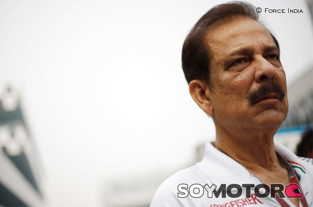 Subrata Roy, copropietario del equipo Force India - LaF1