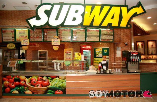 Subway podría convertirse en patrocinador de la Fórmula 1