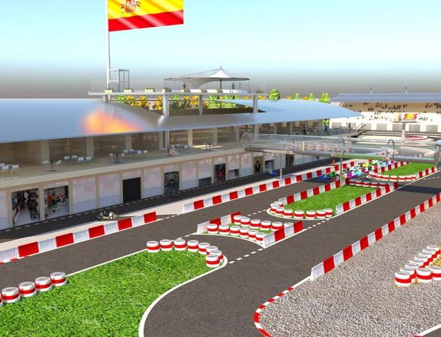 Un grupo inversor quiere construir en Málaga el mejor circuito de karts de Europa - SoyMotor.com