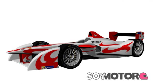 Monoplaza de SAFE para la Fórmula E - LaF1