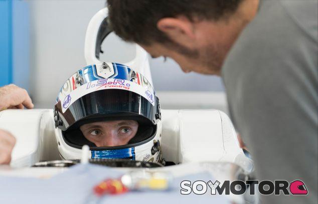 Sergey durante su visita a la fábrica de Sauber