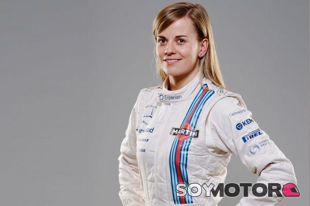 Susie Wolff en la presentación del patrocinio de Martini - LaF1