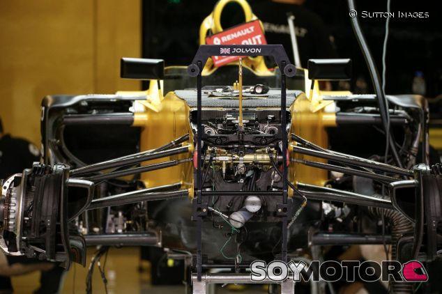 Suspensión del Renault RS17 – SoyMotor.com