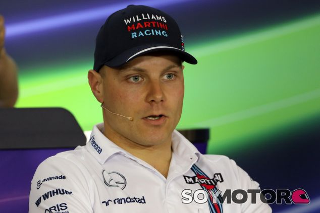 Valtteri Bottas en rueda de prensa - LaF1