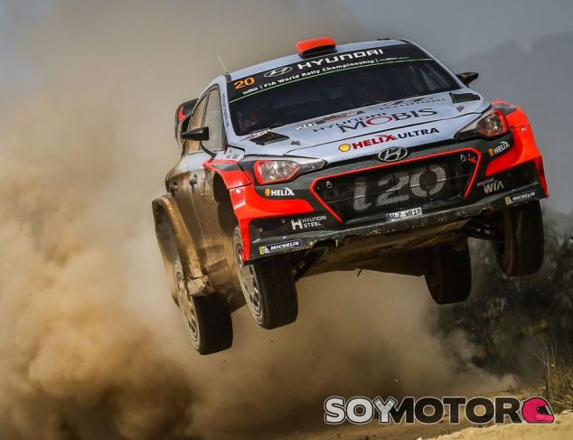 Paddon en el Rally de Australia 2016 - SoyMotor.com
