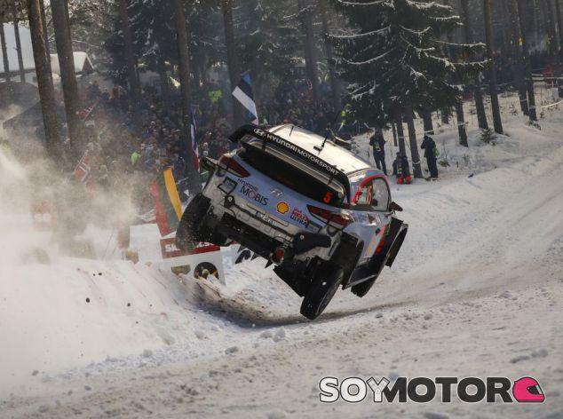 Neuville en el Rally de Suecia 2018 - SoyMotor.com