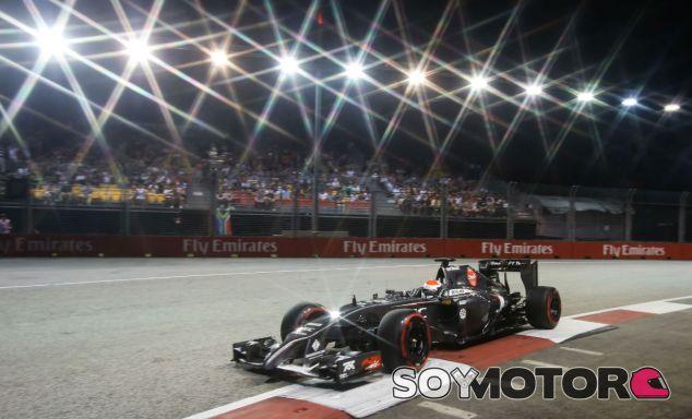 Sauber en el GP de Singapur F1 2014: Domingo
