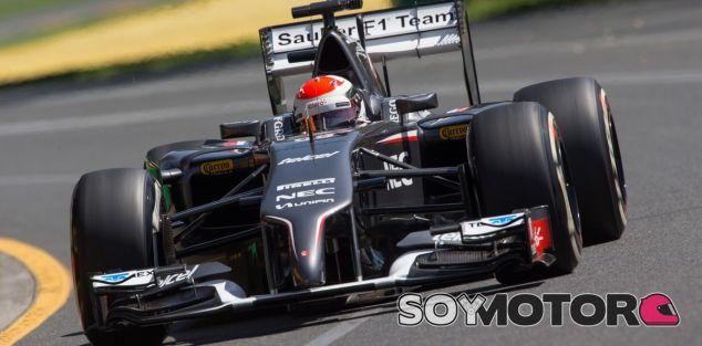 Sauber en el GP de Australia F1 2014: Viernes