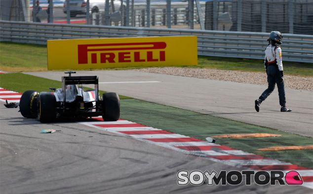Adrian Sutil tras su accidente con Sergio Pérez - LaF1