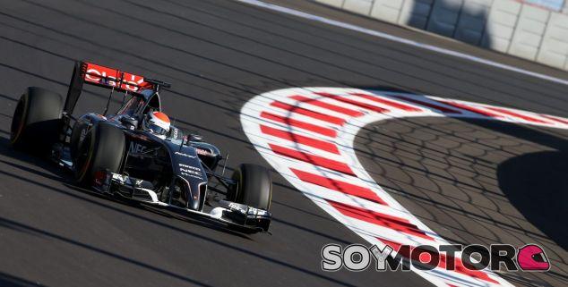 Los problemas técnicos le quitaron tiempo en pista a Gutiérrez - LaF1.es