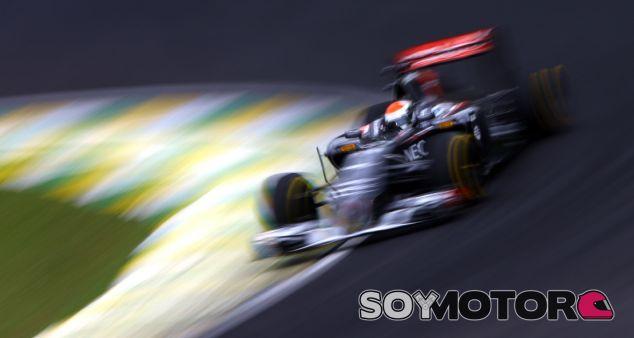 Sauber en el GP de Brasil F1 2014: Sábado