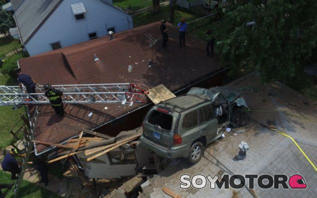 SUV Accidente St. Louis - SoyMotor.com