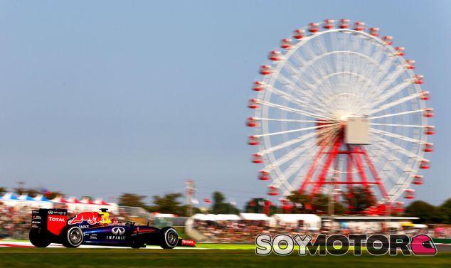 Mantienen la carrera del GP de Japón para el domingo a pesar de Phanfone