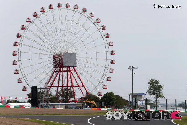 Las rápidas curvas del circuito de Suzuka son un reto para los neumáticos - LaF1