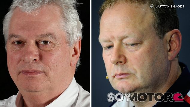 Pat Symonds y Mike Coughlan