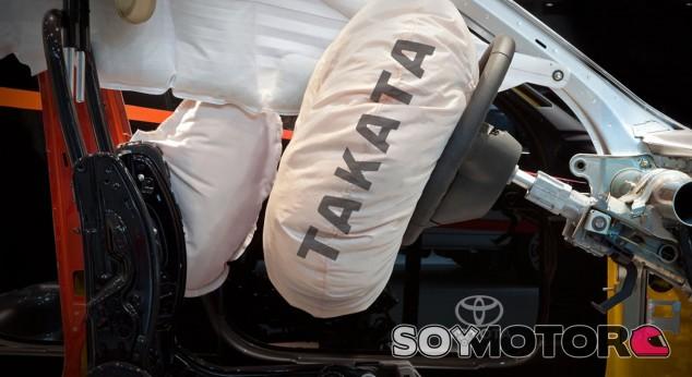 Los airbags Takata presentan un error grave - SoyMotor