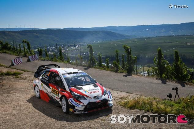 Rally Alemania 2019: Tänak lidera, Neuville al acecho - SoyMotor.com