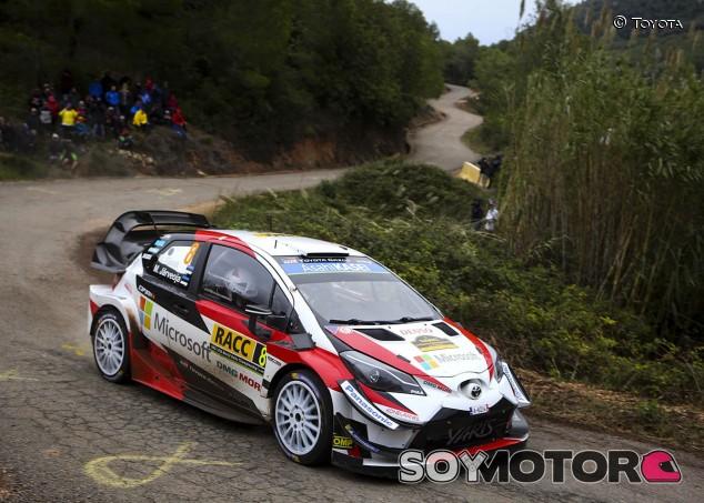Rally España 2019: primera 'bola de partido' para Tänak - SoyMotor.com