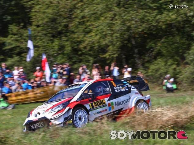 Rally Alemania 2019: Tänak golpea primero; Sordo 2º - SoyMotor.com