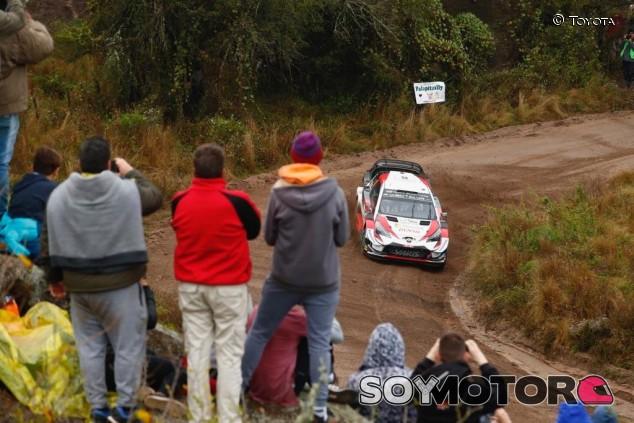 Tänak quiere repetir en Argentina: mejor tiempo en el Shakedown - SoyMotor.com