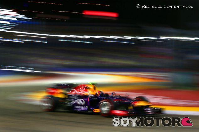 Mark Webber durante el Gran Premio de Singapur - LaF1