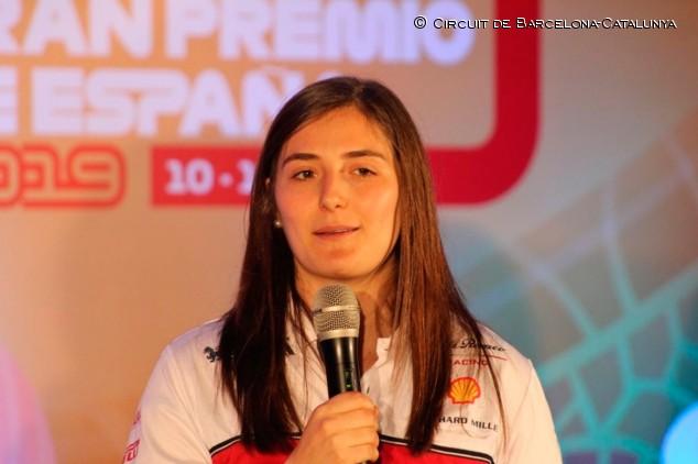 "Tatiana Calderón: ""Espero montarme en un Fórmula 1 este año"" - SoyMotor.com"