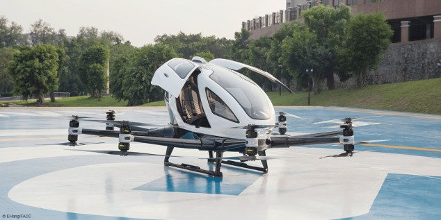 Taxis voladores: un futuro con primeras pruebas en Valencia - SoyMotor.com