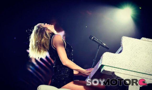 Taylor Swift en su concierto en el Circuit of the Americas - LaF1
