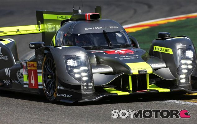 El coche del equipo Team ByKolles - LaF1