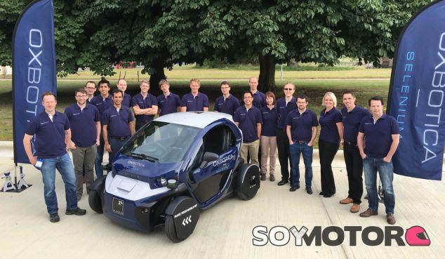 Este es el equipo de Oxbotic, creador de este software de conducción autónoma - SoyMotor